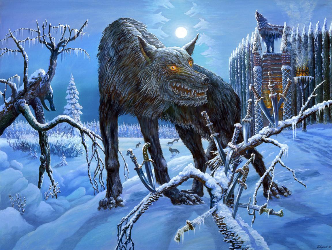 Волколак — человек, способный превращаться в волка (медведя). Волколаком можно стать добровольно и п