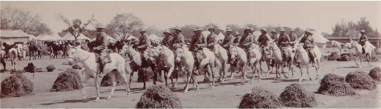 1910. Британская армия в Бангалоре, Индия