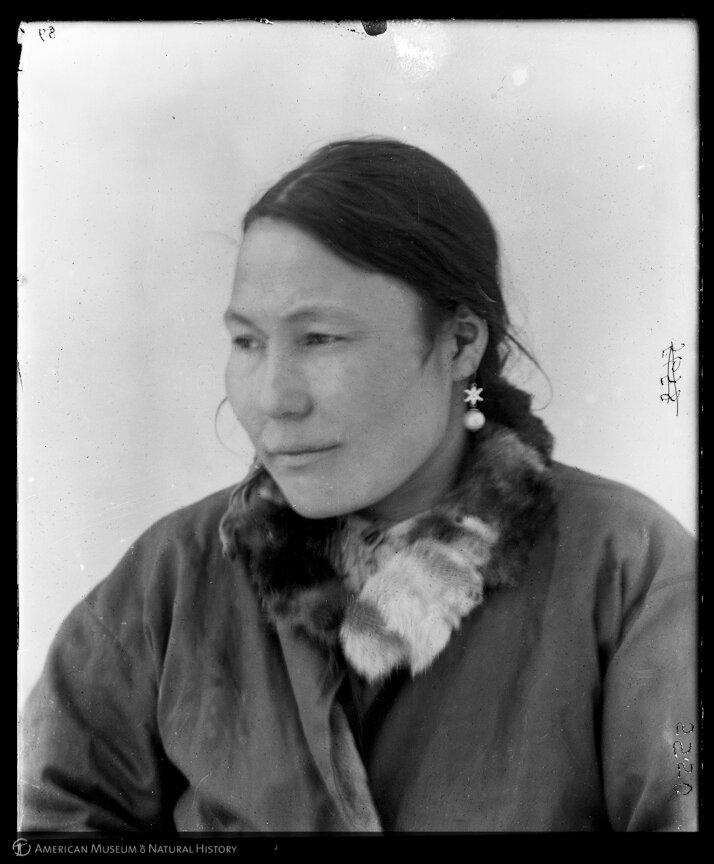Чукчи. Женщина,Марково. 1900