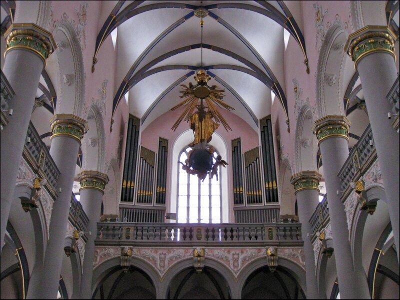 Орган в церкви иезуитов в Падерборне