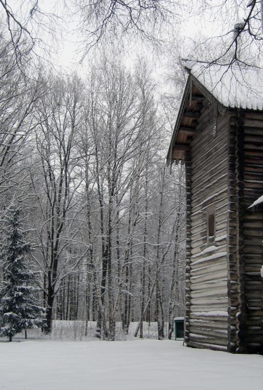 Никольская церковь из Мякишево