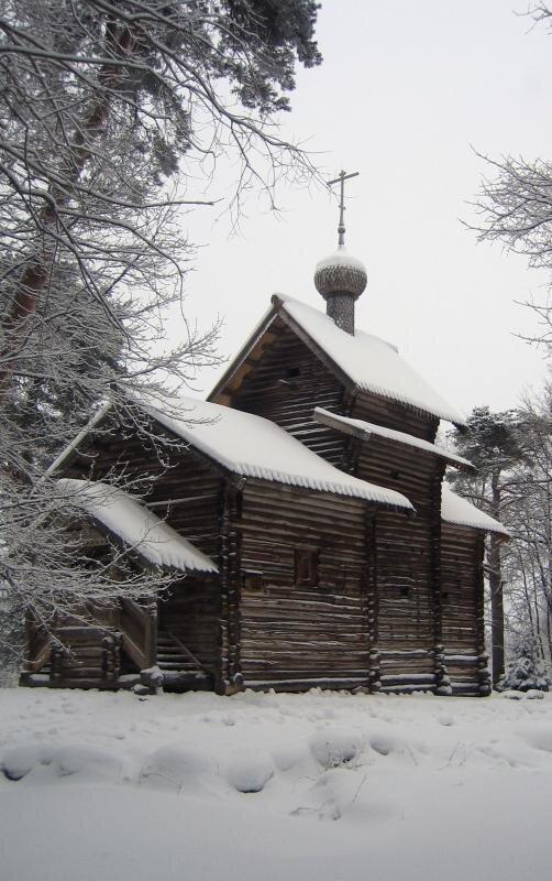 Никольская церковь из Тухоли. Конец 17 в.