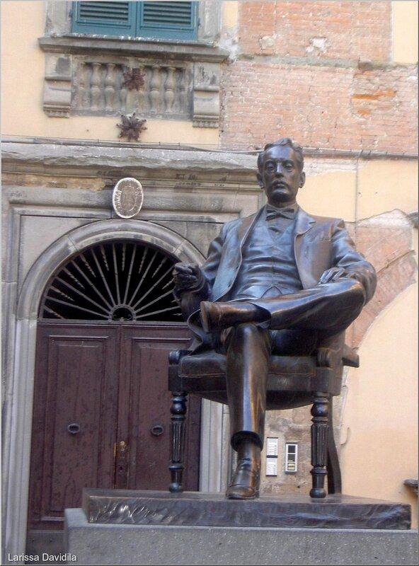 Памятник Пуччини.