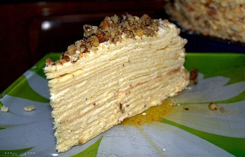 рецепт торта идеал с фото