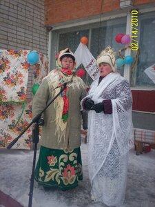 Поют Нина Лифанова и Валентина Федина