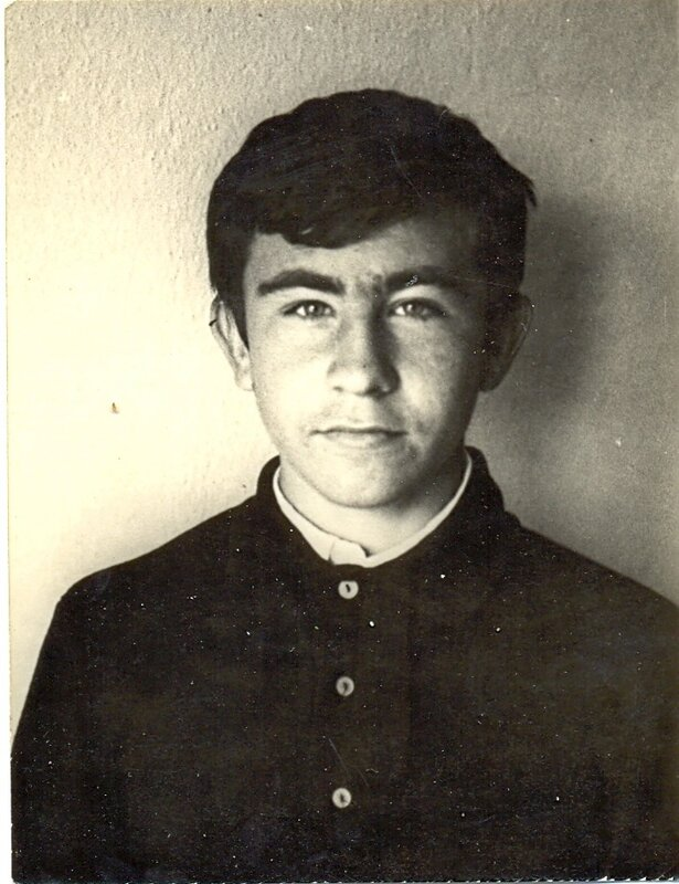 Школьник. 1971 г.