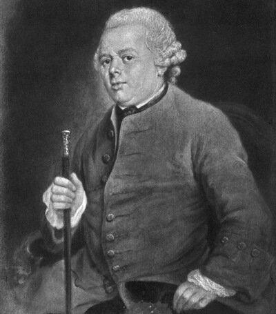 Markus Levin (18. Jahrhundert)Портрет Даниэля Ходовецкий (1726-1801), без указания даты.