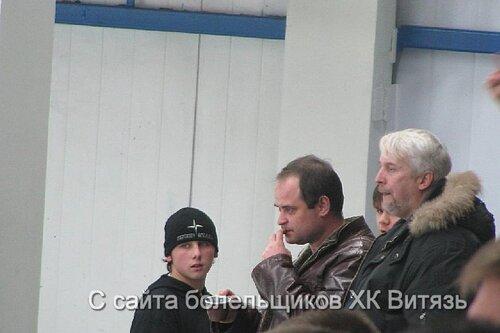 ФОТО С МАТЧА ВИТЯЗЬ-ХК МВД