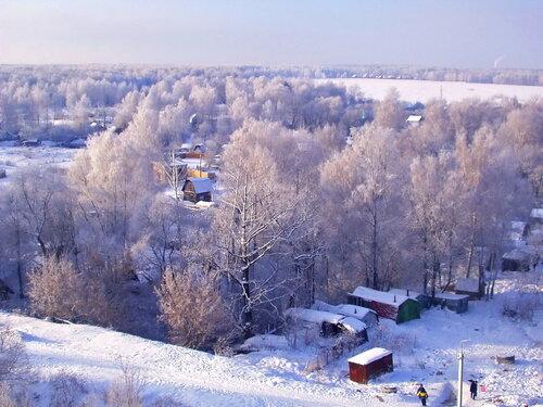 Зима в Троицком