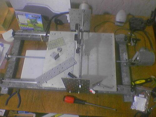 Станок для фрезеровки печатных плат своими руками 41