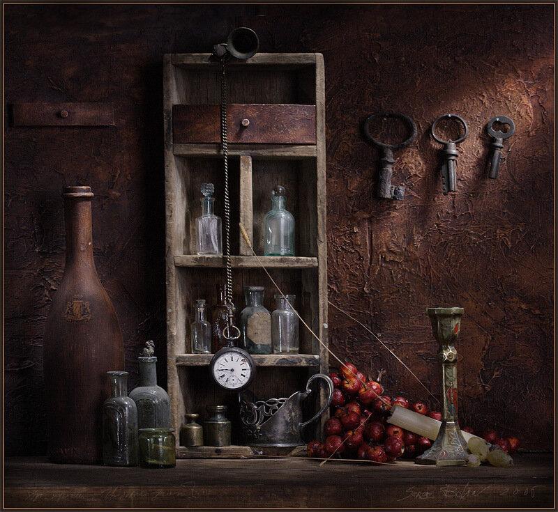фотонатюрморты Сергея Белова