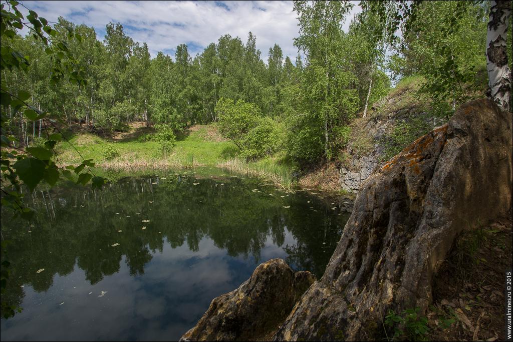 Кызылташский рудник наждака