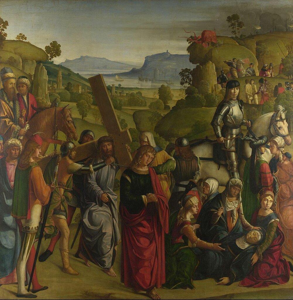 Boccaccio_Boccaccino_-_Christ_carrying_the_Cross_(National_Gallery,_London)1501.jpg