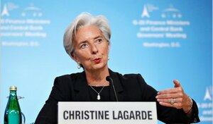 Кристин Лагард призвала углублять реформы в Украине