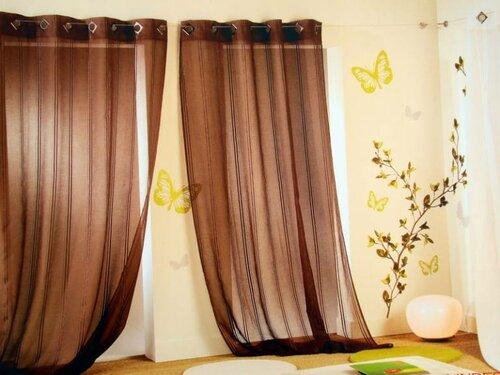 Советы по выбору тканей для штор