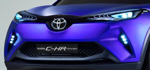 Toyota продемонстрировала концепт кроссовера