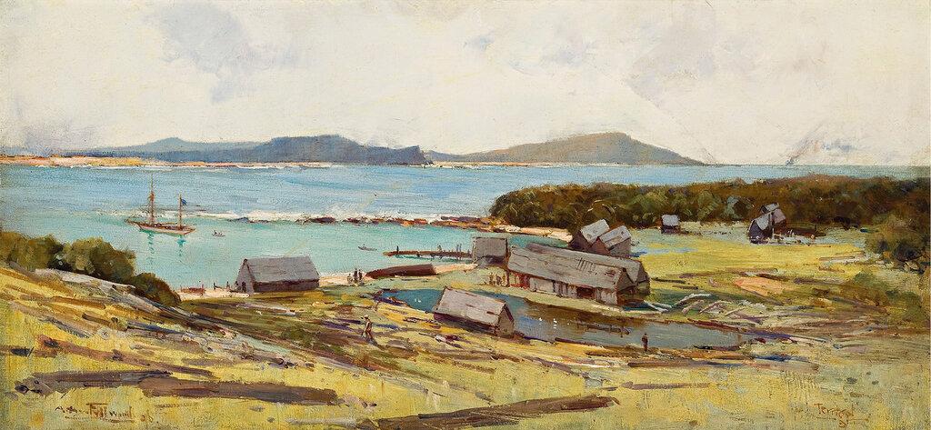Albert Henry Fullwood - Terrigal (Smokey Cape), 1896.jpeg
