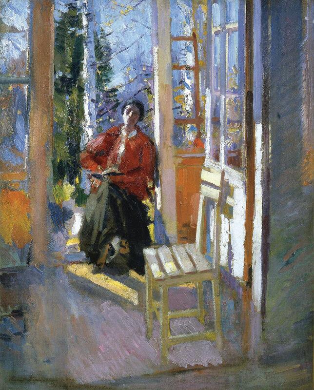 Constantin Korovin - On the Terrace.jpeg