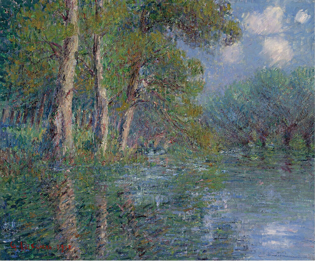 Gustave Loiseau - The Bend of the Eure, 1913.jpeg