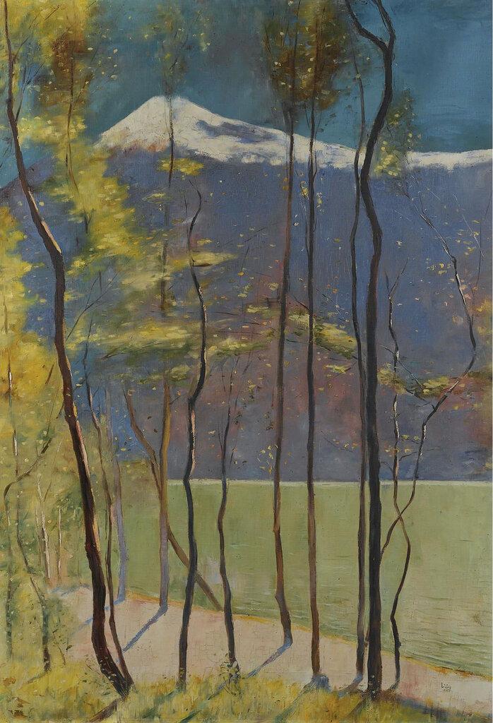 Lesser Ury - Spring on Lake Garda, 1905.jpeg