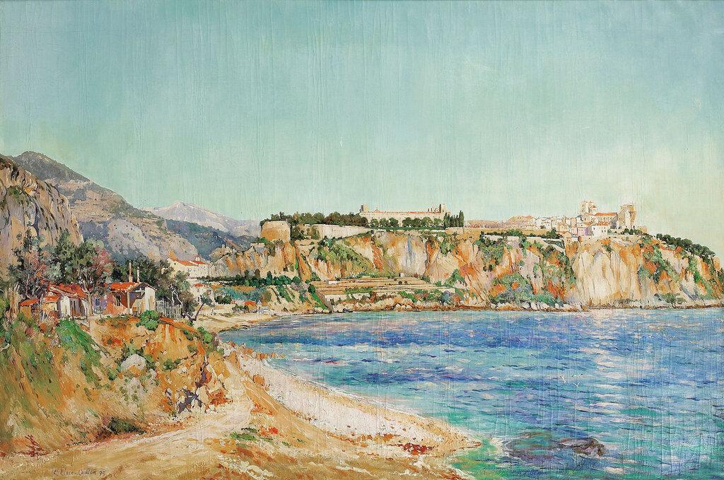 Paul Place-Canton - A View of Monaco, 1895.jpeg