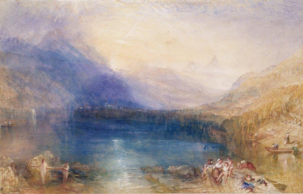 The Lake of Zug, Early Morning, 1843.jpg