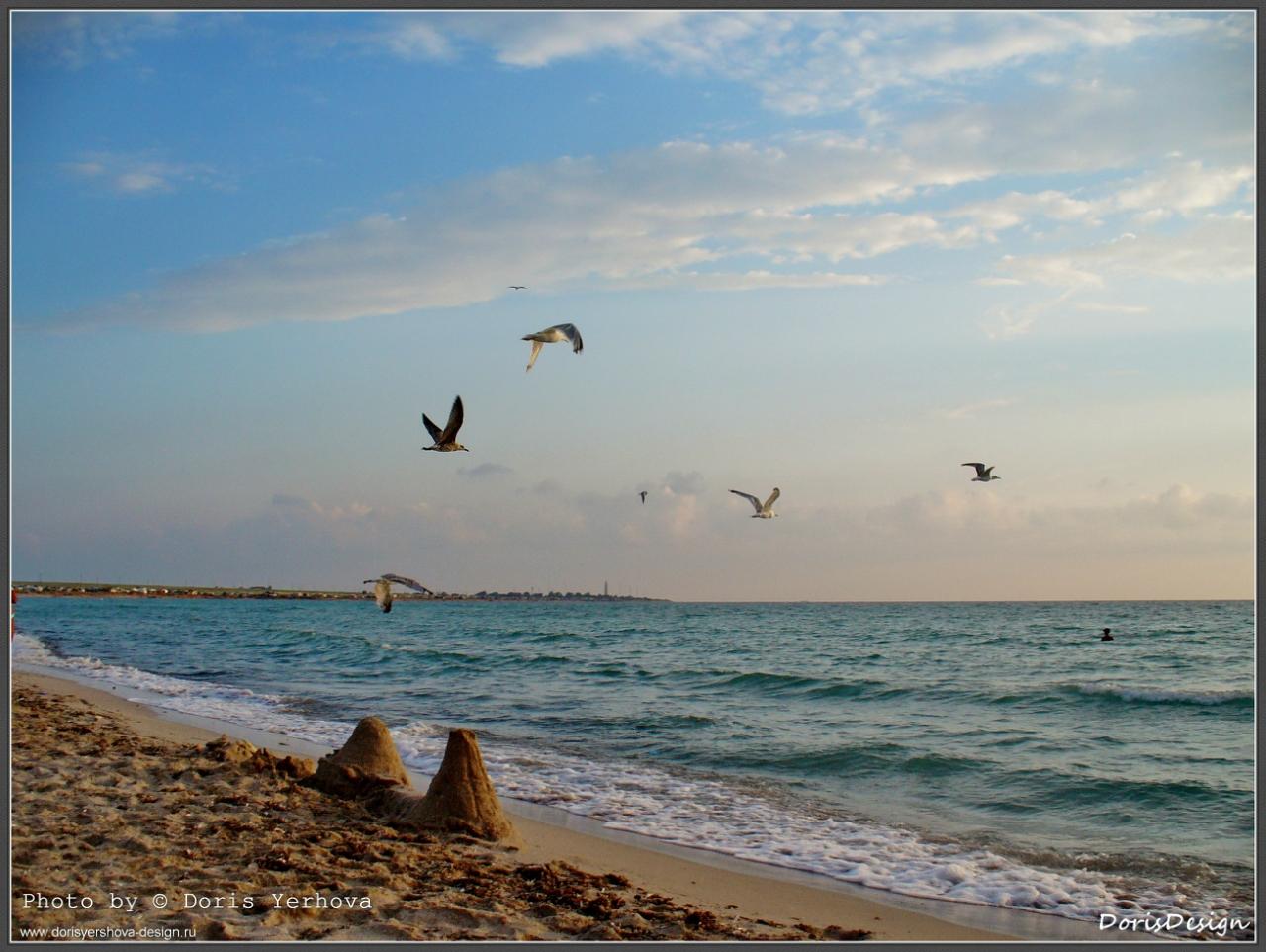 Черное море, Оленевка, фото - ©Дорис Ершовой