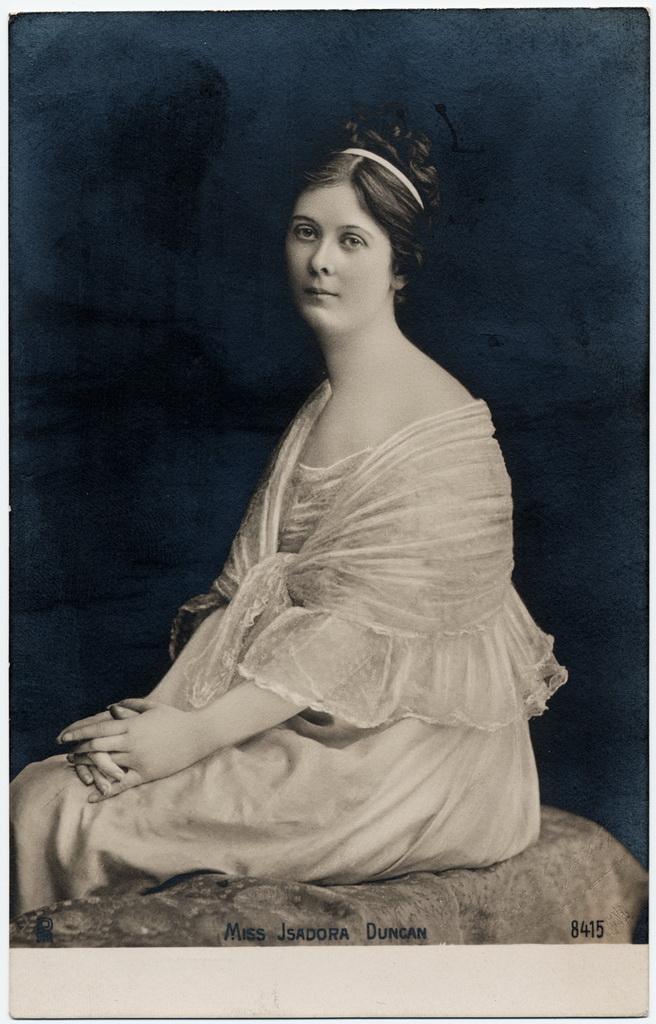 Айседора Дункан.