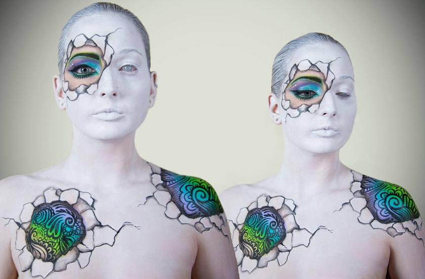 Девушка потрясающе меняет свое лицо с помощью макияжа 0 142244 9c2b9829 orig