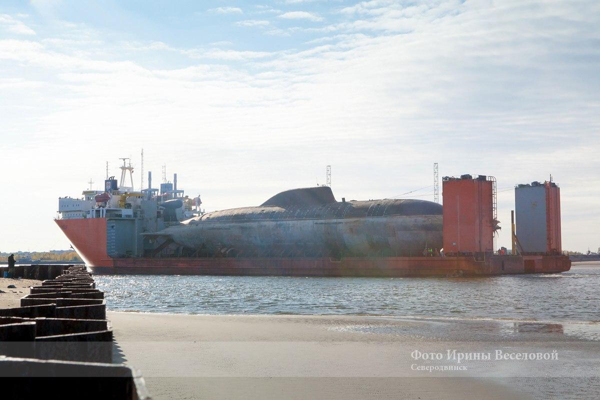 видео подводная лодка самара