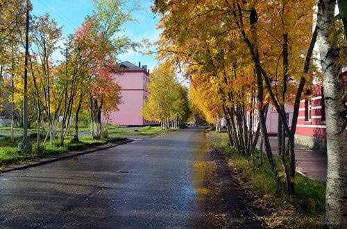 Фото города Инта №7246  Полярная 25, 22 и 20 16.09.2014_12:16