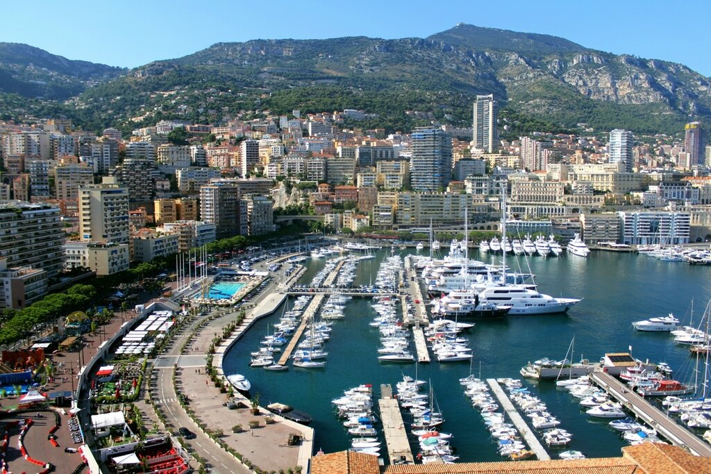 Гавань - порт Монако