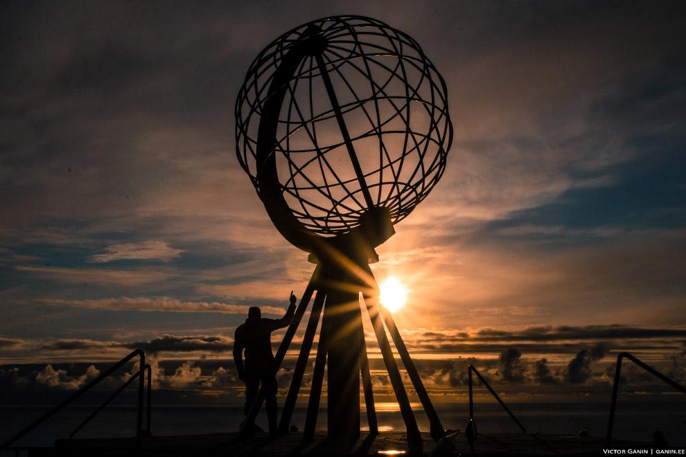 26. Мыс Knivskjellodden — самая северная точка острова Магёре, находится на 1,5 км севернее мыса Нор