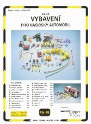 Журнал Sada Vybaveni pro hasicsky automobil  (Ripper Works 09)