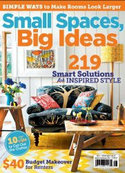 Журнал Romantic Homes Magazine Small Spaes, Big Ideas 2014