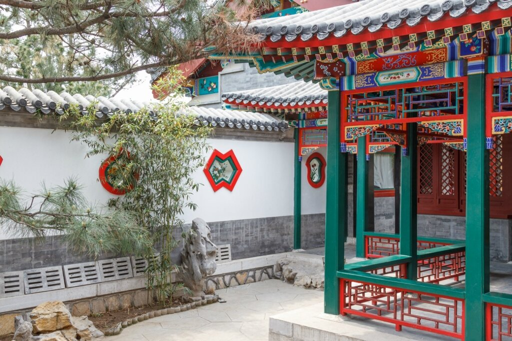 Сад Пекина, парк-выставка садов, Пекин
