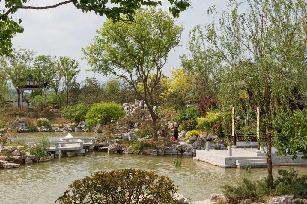 Сад Цзянсу, парк-выставка садов, Пекин