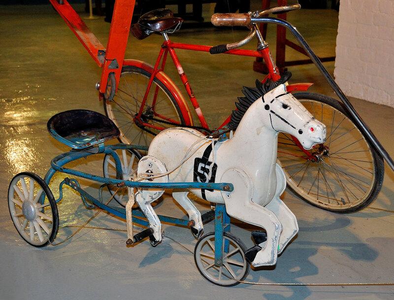 Лошадка с педалями