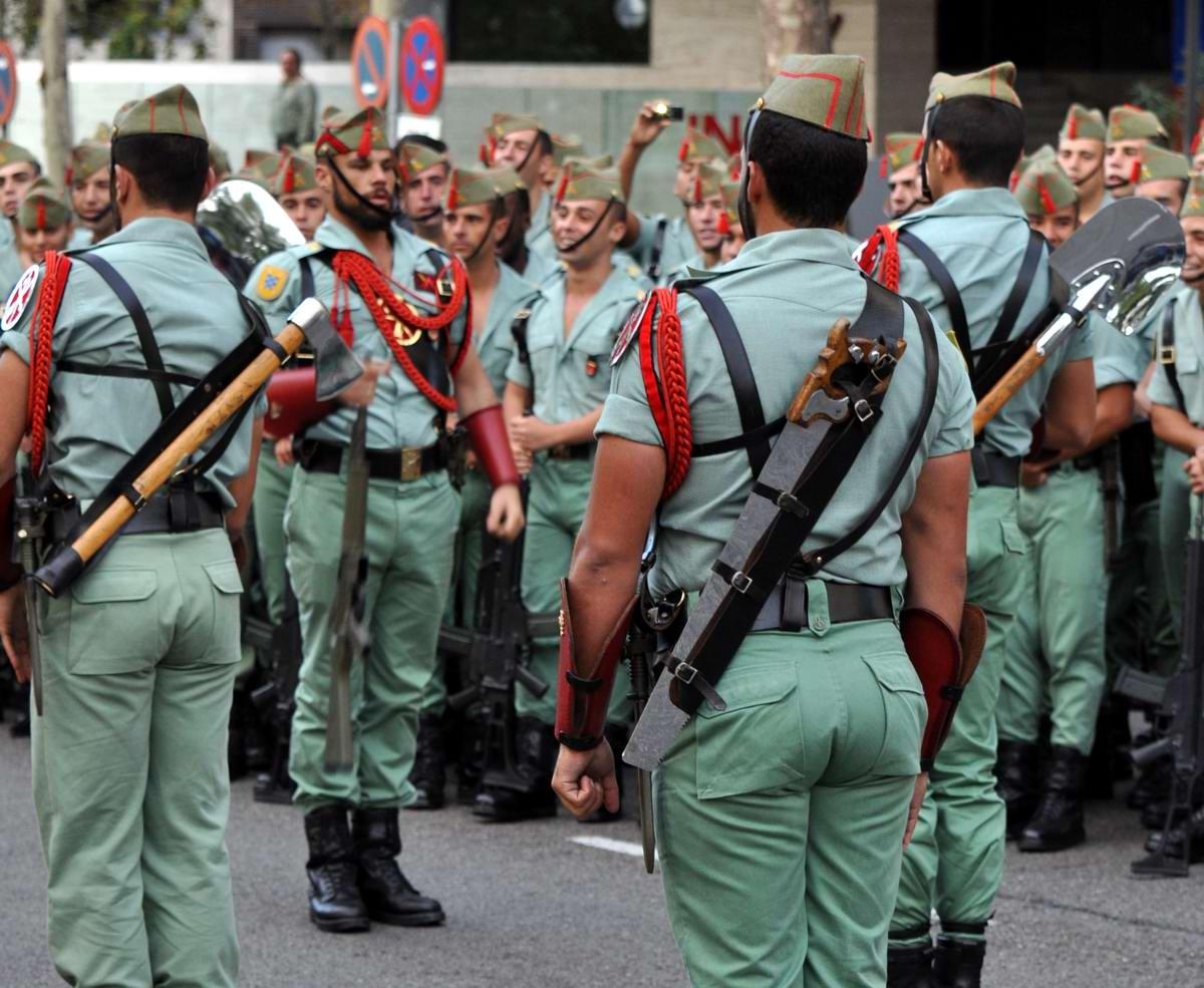 иностранный легион испании фото через
