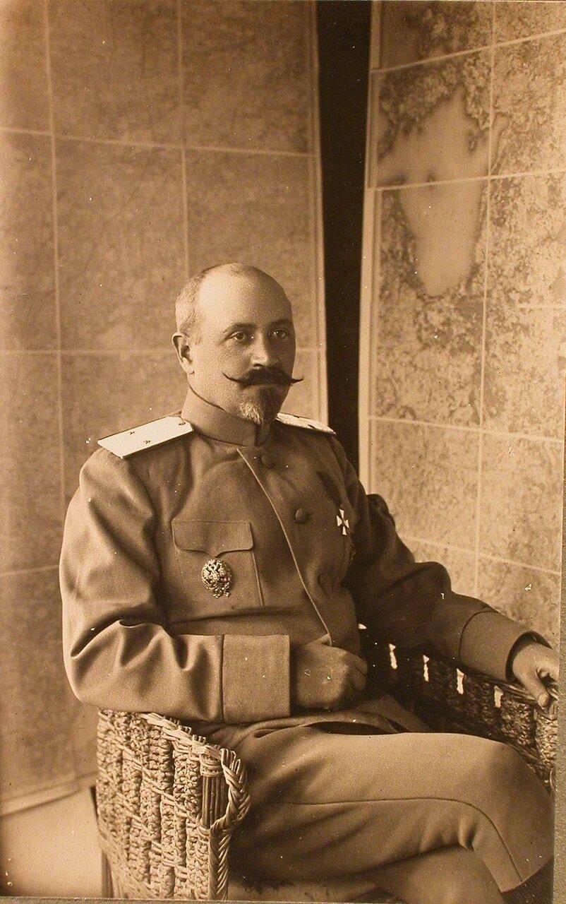 21. Один из офицеров штаба армии. Ковель. 1915