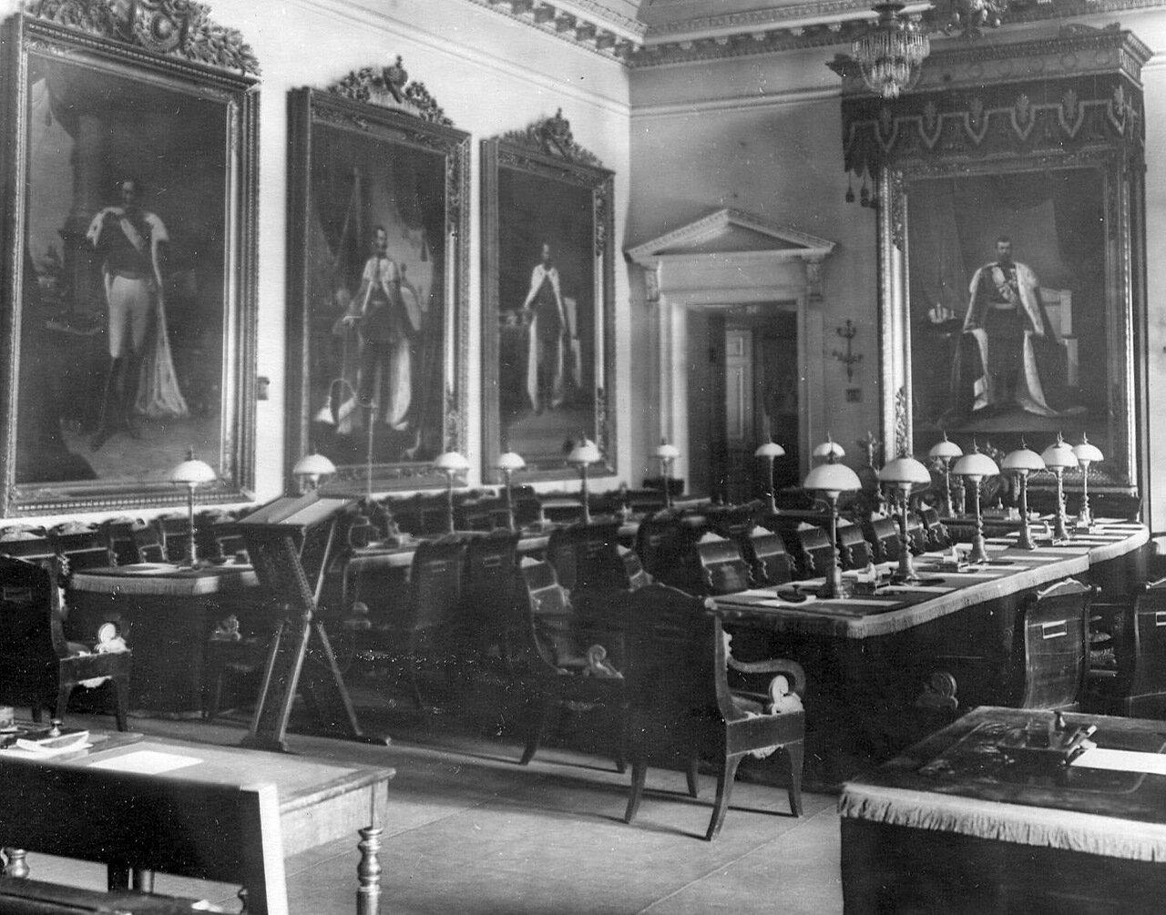 11. Зал заседаний Сената. 1911