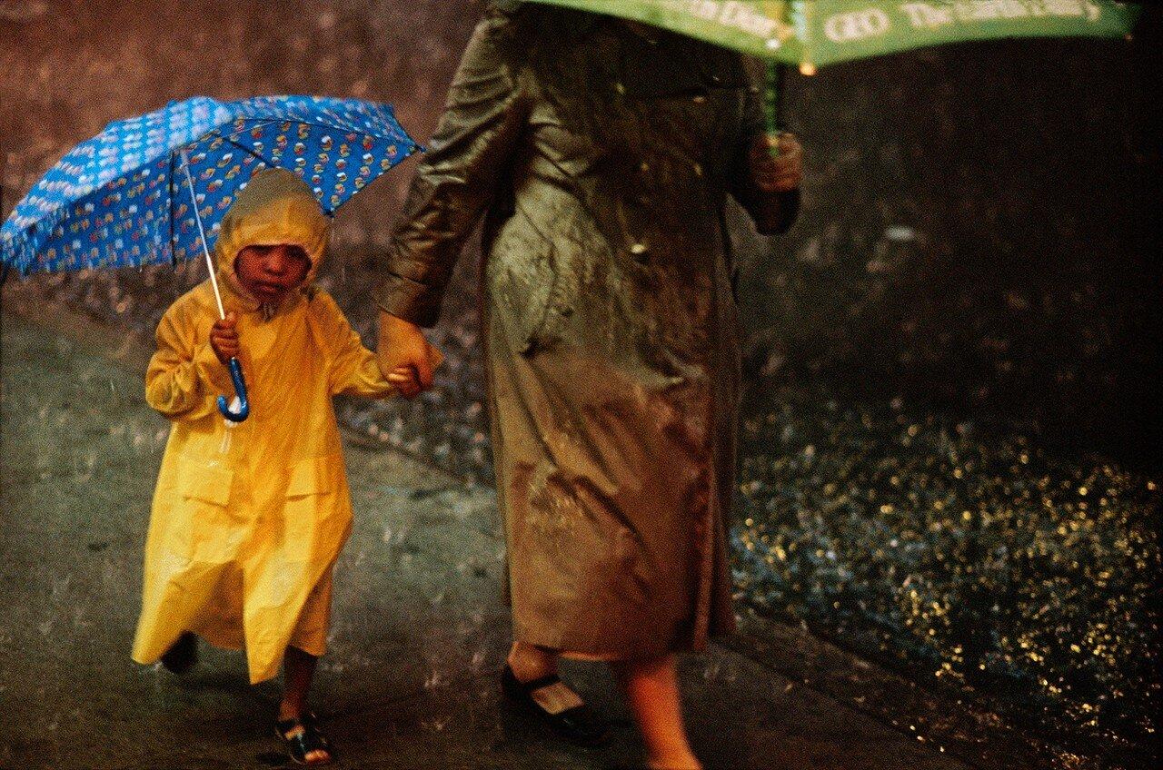 1983. Дождь в Централ-парке
