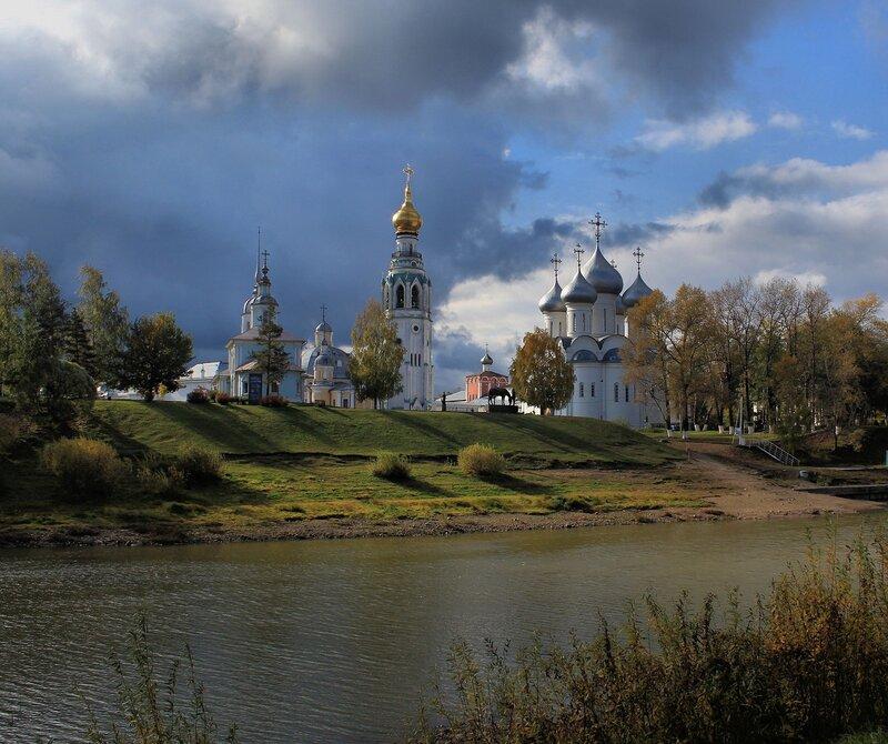 Вологда осенью