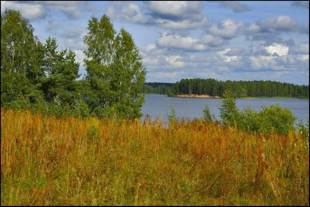 На озере Велье
