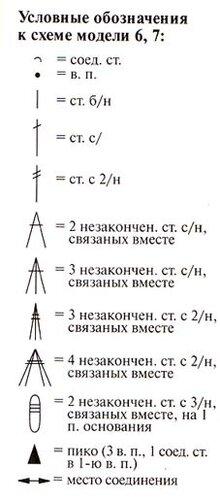 """Большой мотив (9 шт.): цепочку...  Размер: 27 х 27 см. Материалы: пряжа  """"PELICAN """" (100% хлопка двойной мерсеризации..."""