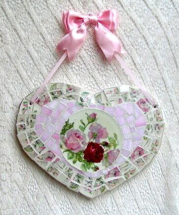 Панно – валентинка с розами своими