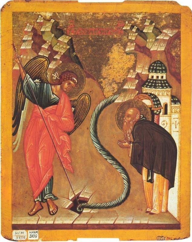 """Икона-""""таблетка"""" из Софийского собора"""