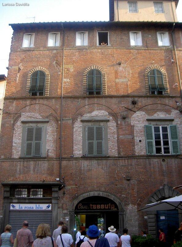 Дом, в котором родился Пуччини.