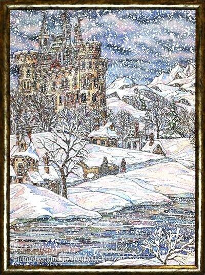 Гамаюнова Ольга. «Зима»