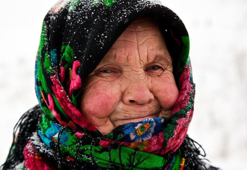 старушка ком фото